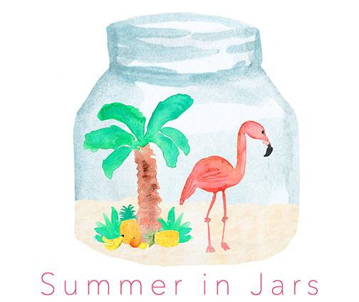 Summer In Jars - 25 creative ideas to welcome in the summer season!