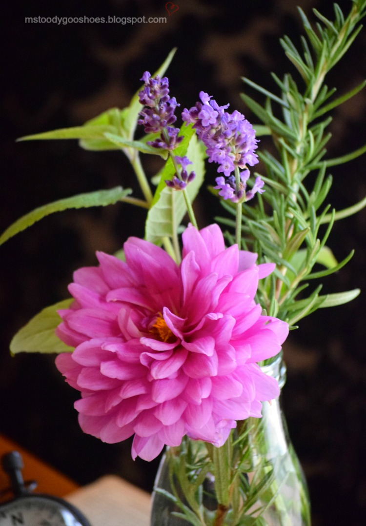 Using Herbs In Flower Arrangements A Little Claireification