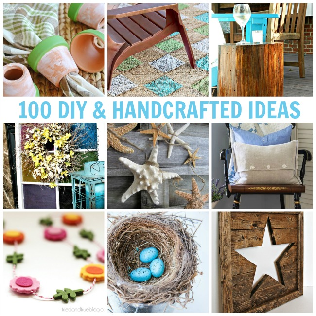 100 DIY and Handcrafted Projects & Ideas - All Things Creative