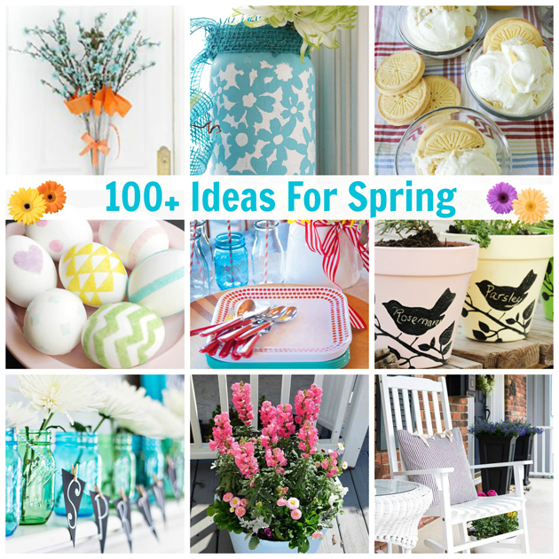 100+ Ideas For Spring