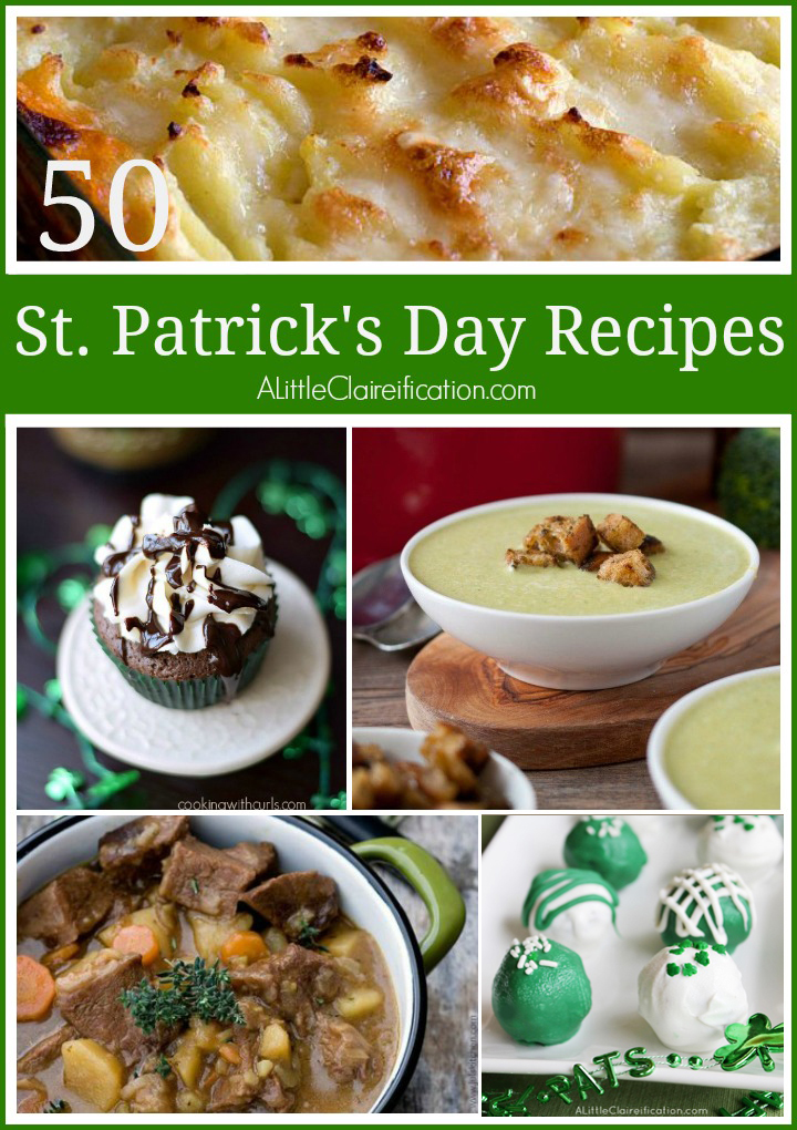50 St. Patrick's Day Recipes
