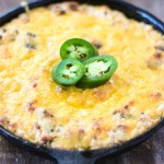 Bacon Jalapeño Cheddar Cheese Dip