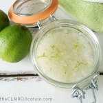 DIY Stress Away Bath Scrub | Healthy Living, Healthy Home Series