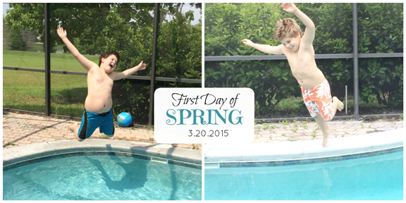 First Day Of Spring 2015