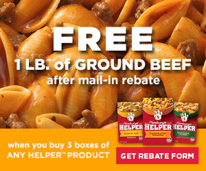 Free Ground Beef Rebate