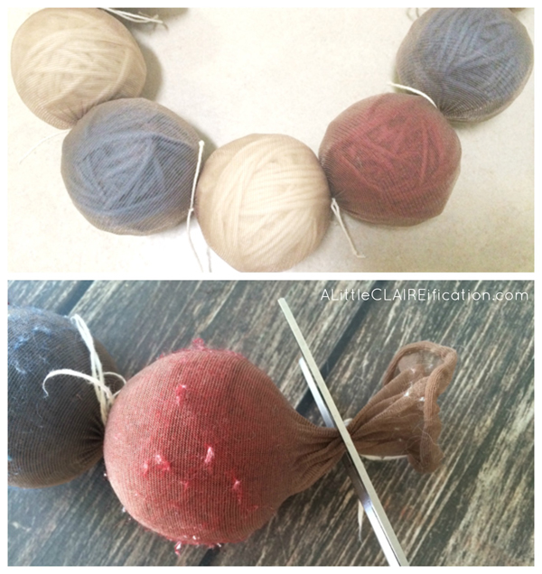 Homemade DIY Wool Dryer Balls - a chemical free, money saving idea!