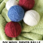Homemade DIY Wool Dryer Balls | A Chemical Free, Money Saving Idea