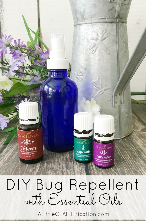 How To Make Your Own Bug Spray - this DIY Insect Repellent not only keeps the bugs away it's chemical free and smells good too thanks to essential oils!