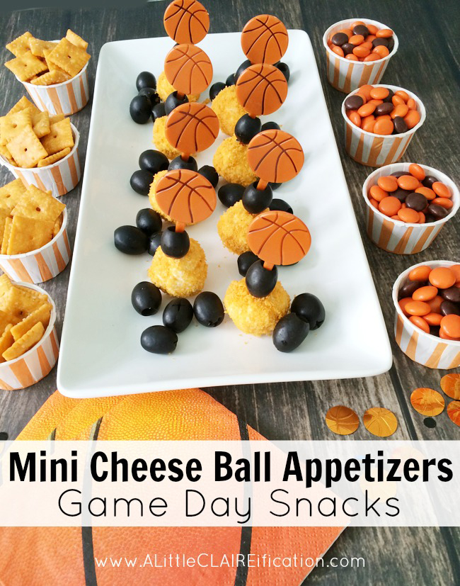 These easy Mini- Cheese Ball Appetizers are a perfect Game Day or party snack!