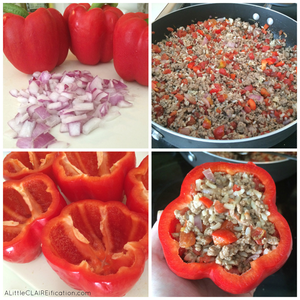 how to make stuffed bell peppers in slow cooker