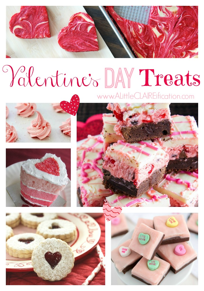 Valentine's Day Treats  - 25 Delicious Ideas