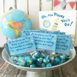 Oh The Places You'll Go Graduation Printable Treat Bag Toppers