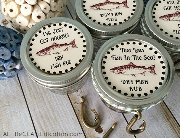 Fishing Themed Wedding Favors Cajun Spice Fish Rub With Free
