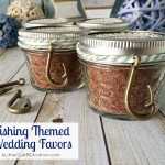 Fishing Themed Wedding Favors – Cajun Spice Fish Rub with free labels