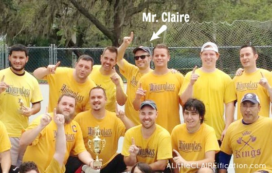Mr. Claire Street Hockey League - Champions!!