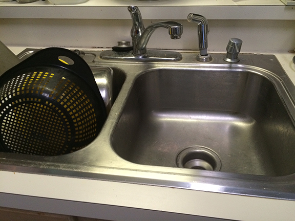 Renovating Our Kitchen - The Current Sink