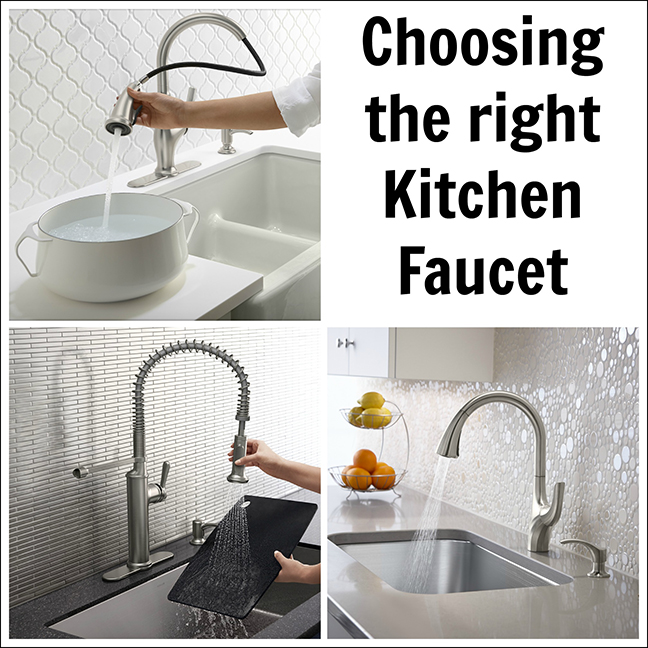 Renovating Our Kitchen and Choosing The Right Kohler Faucet