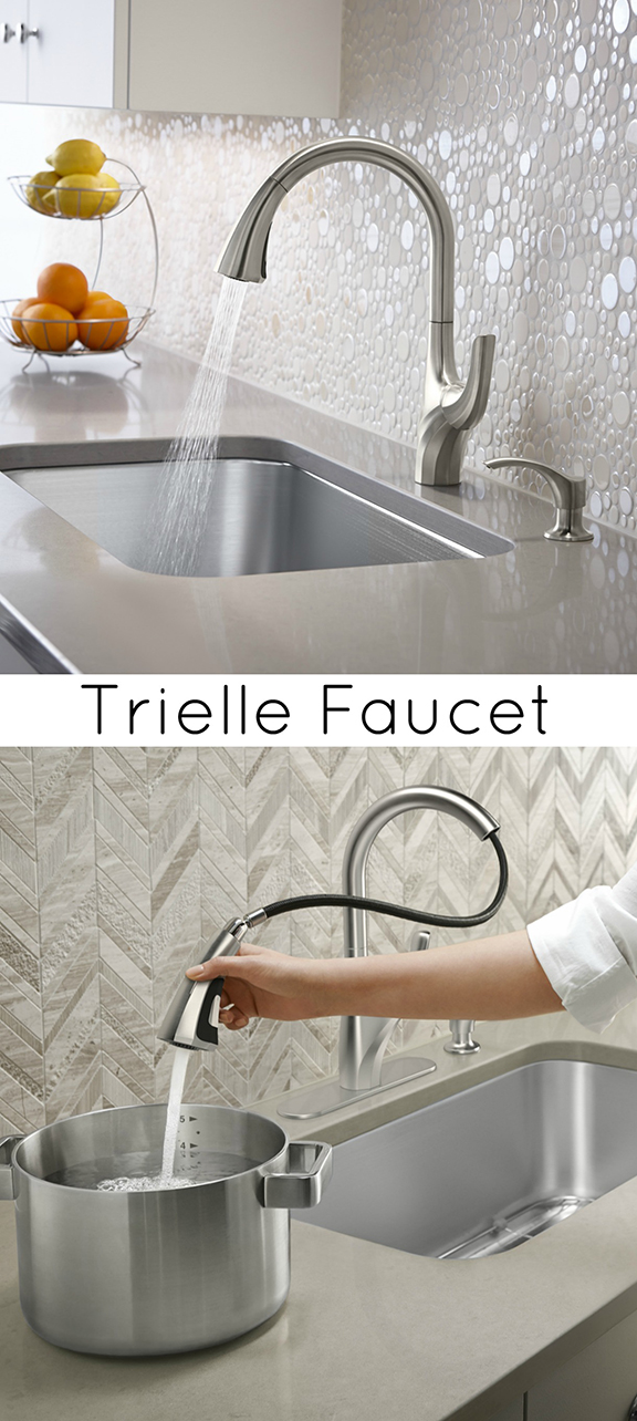 Trielle Faucet by Kohler at Home Depot