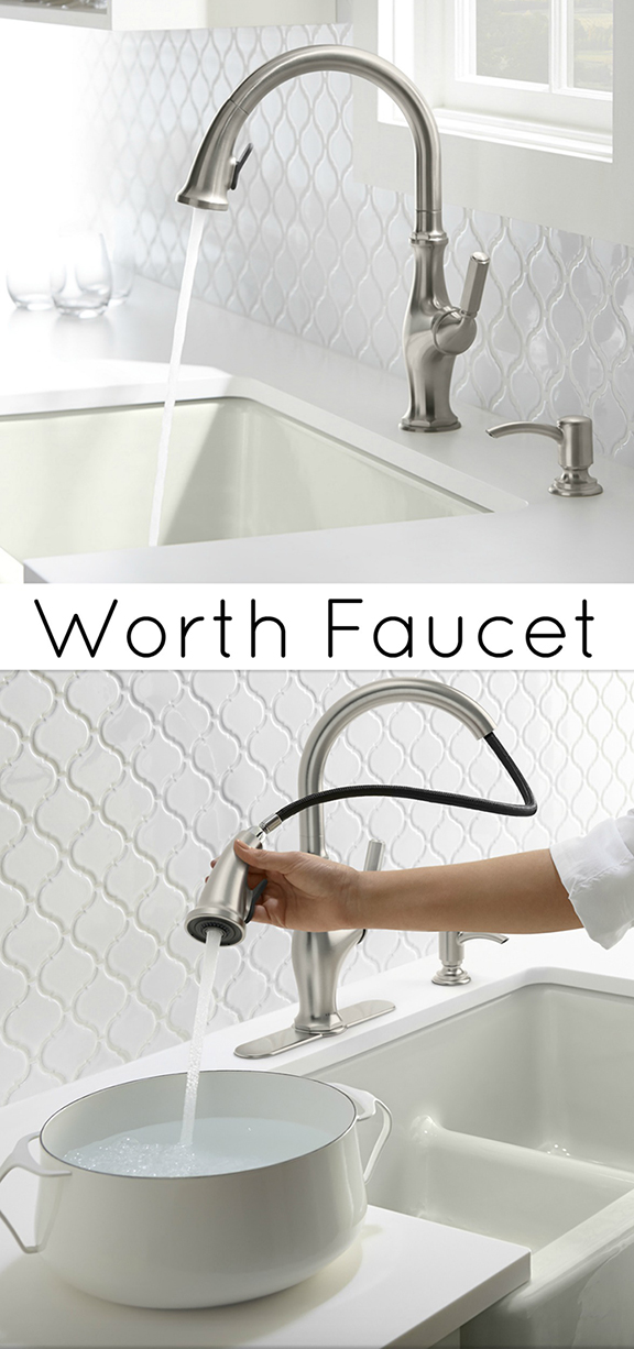 Kohler Worth Faucet : ... the Kohler Worth Kitchen Faucet Features we like about the Worth