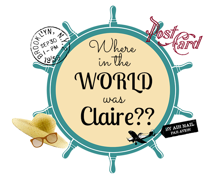 Where In The World Is Claire logo2