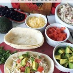 Chicken Enchiladas Verdes Boats  – A Summer Fiesta Recipe