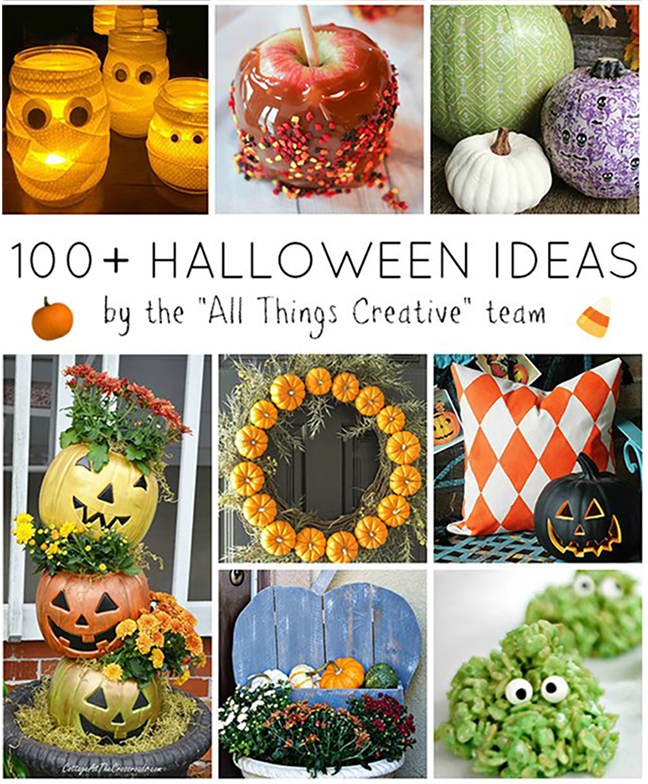 100 Ideas For Halloween - All Things Creative