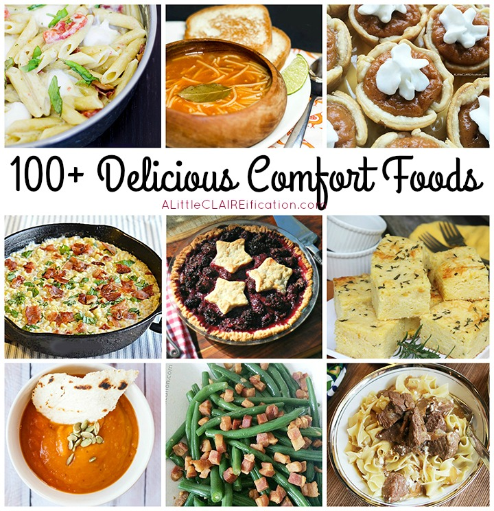 All Things Comfort Food - 100+ Delicious Ideas