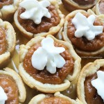 Mini Pumpkin Pie Spice Tarts
