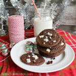 Chocolate Peppermint Bark Cookies and a $500 Holiday Cash Giveaway
