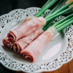 Green Onion Meat Wraps