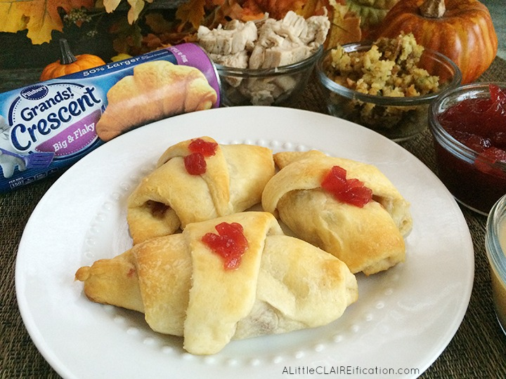 Thanksgiving Leftover Crescent Roll-Ups Recipe