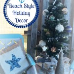 SEAS & GREETINGS | Beach Themed Holiday Patio Decor