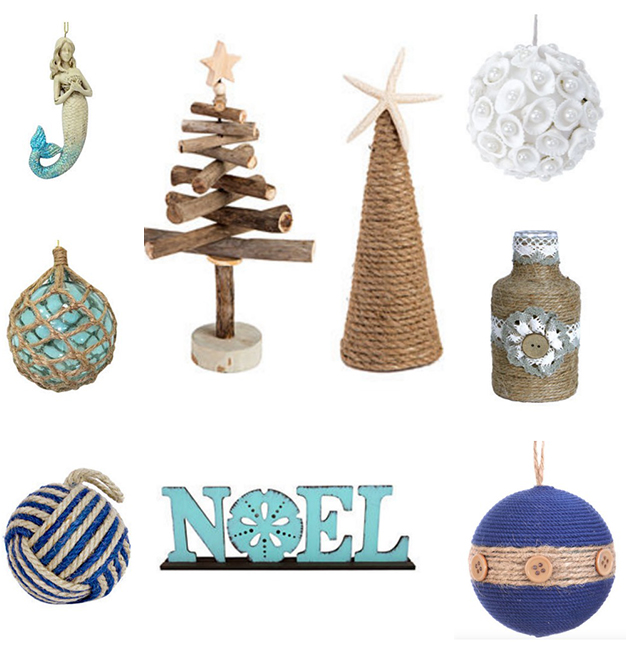 Beach Themed Holiday Patio Decor 2