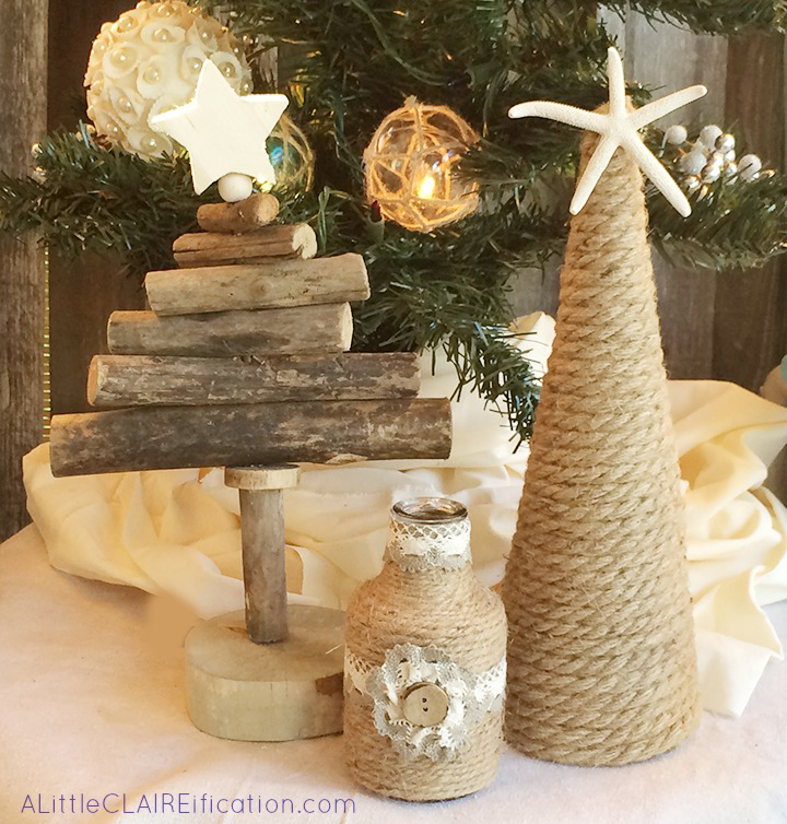 Beach Themed Holiday Patio Decor 9