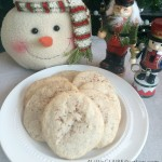 The BEST EggNog Snickerdoodle Cookies