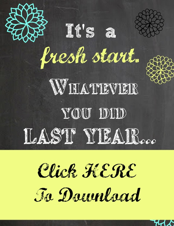 21 Free Printables For January at ALittleClaireification.com #printables #free #NewYear