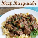 Easy Crockpot Beef Burgundy | And Yet ANOTHER Big Announcement