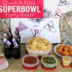 A Party Game Plan:  Quick & Easy Superbowl Party Ideas