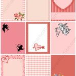 Vintage Valentine Gift Tags Printables | 24 FREE Printables For February