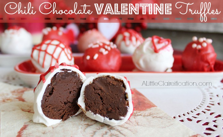 Chili Chocolate Truffles | A Little Claireification