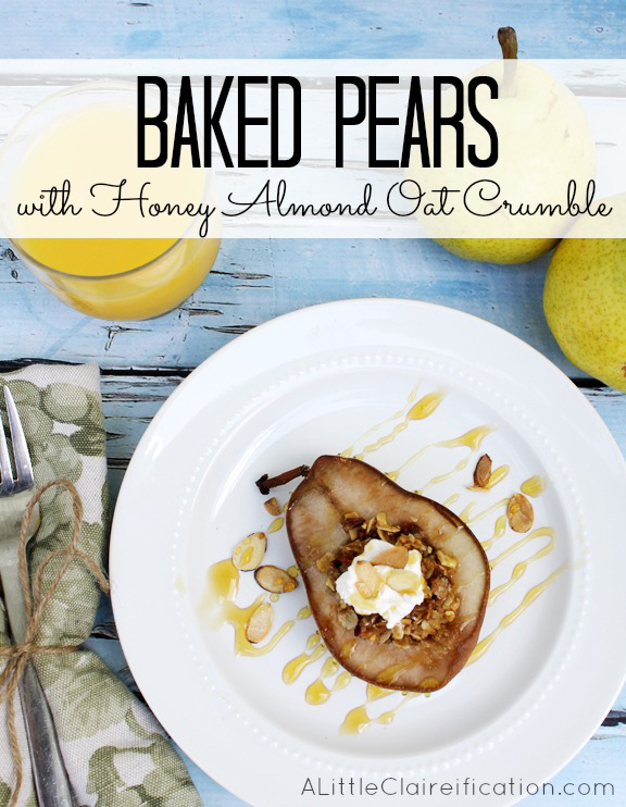 Baked Pears Recipe PM