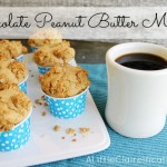 Chocolate Peanut Butter Muffins & Coffee Talk
