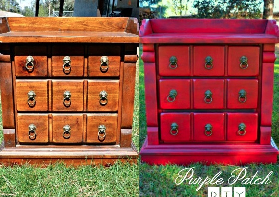 Dresser Makeover featured at ALittleClaireification.com #recipe #party #linky #crafts #DIY