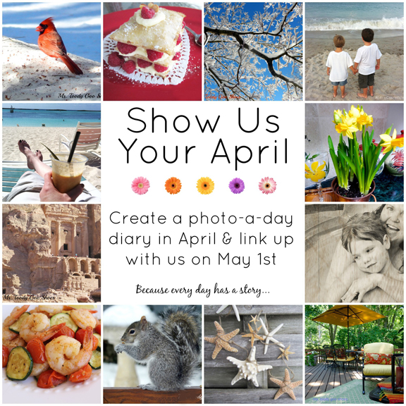 Show Us Your April - A Photo A Day at ALittleClaireification.com #bloggers #life #inspiration