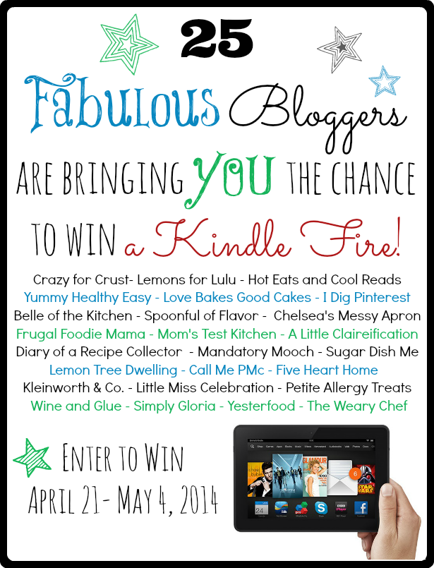 Win A Kindle Fire in our Bloglovin Giveaway!!