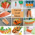 Carrot Craft Ideas - Easter Fun With Carrots