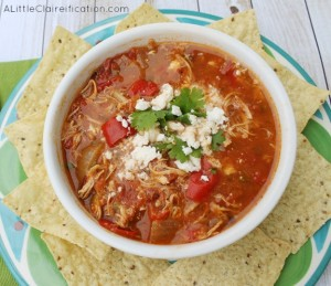 Chilaquiles Crock Pot Chicken Soup