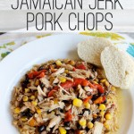 Crockpot Jamaican Jerk Pork Chops | Slow Cooker Meals