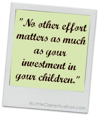 """No other effort..."" quote at ALittleClaireification.com #bloggers #life #inspiration"