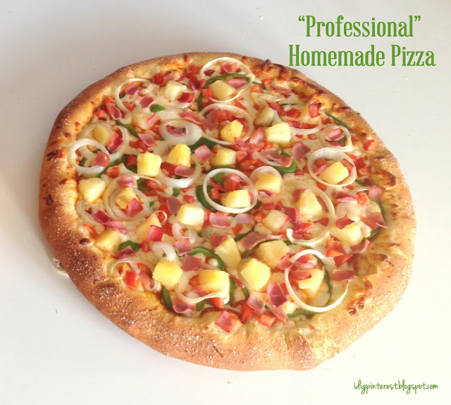 Professional Homemade Pizza and more with ALittleClaireification.com and @alittleclaire #recipes  #pizza